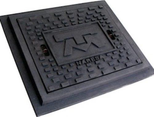 TAPA Y MARCO TELMEX DE 50X60 CM.